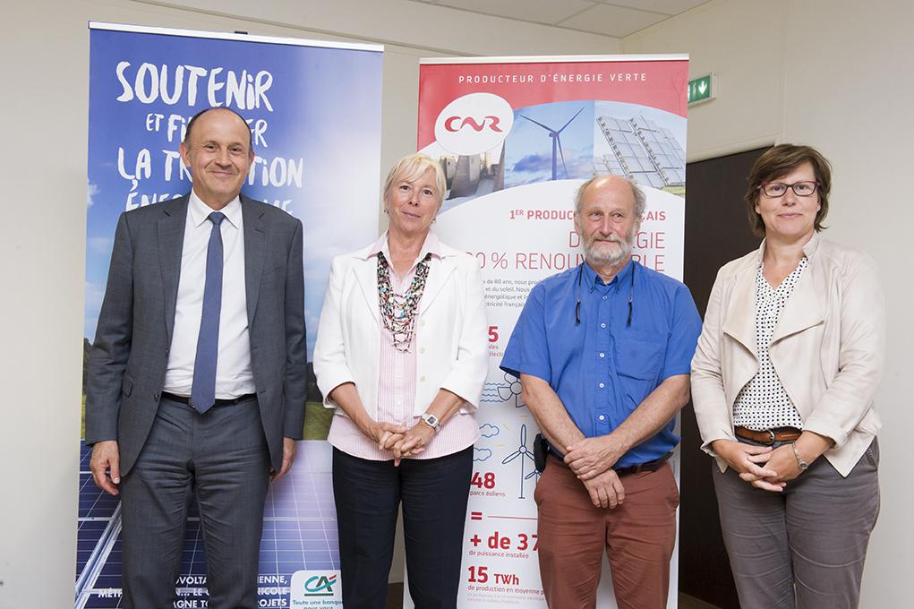 Photovoltaïque: la CNR, le Crédit agricole et l'association Hespul publient un livre blanc