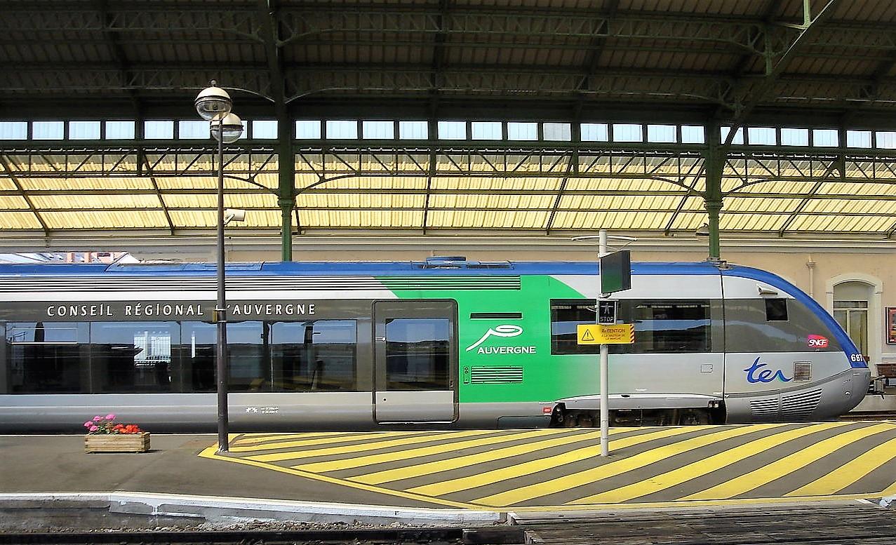 Voie ferrée Clermont-Ferrand – Thiers : rénovation en 2021