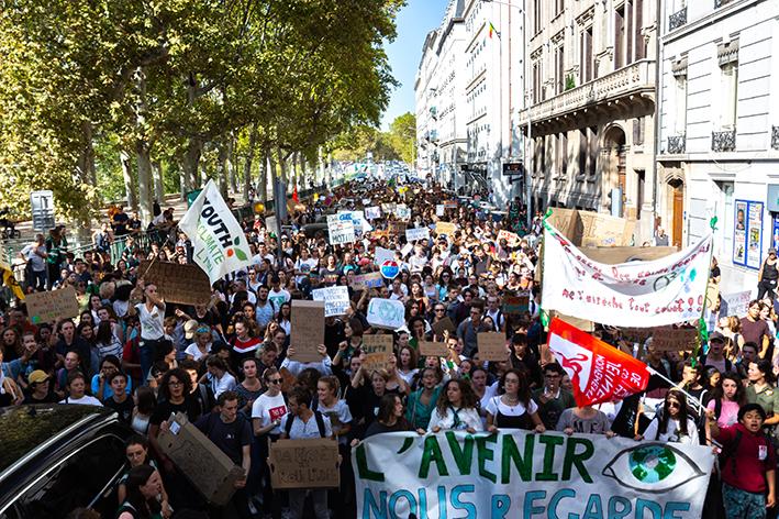 Les Jeunes pour le Climat restent mobilisés