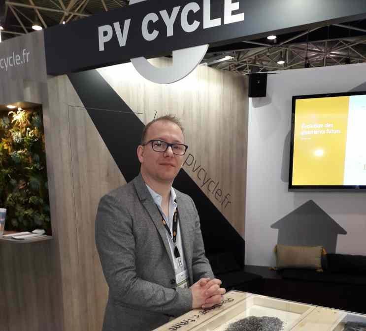 Bertrand Lempkowicz, directeur du marketing de PV Cycle ( Enviscope.com)