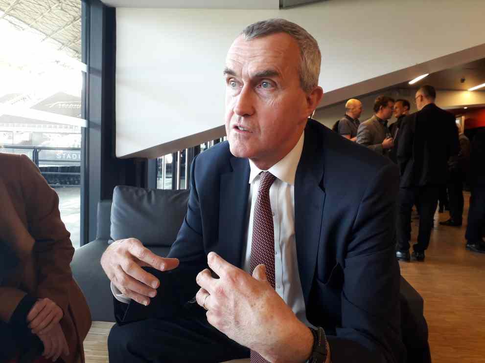 Frédéri Van Heems, directeur général de VEOLIA EAU