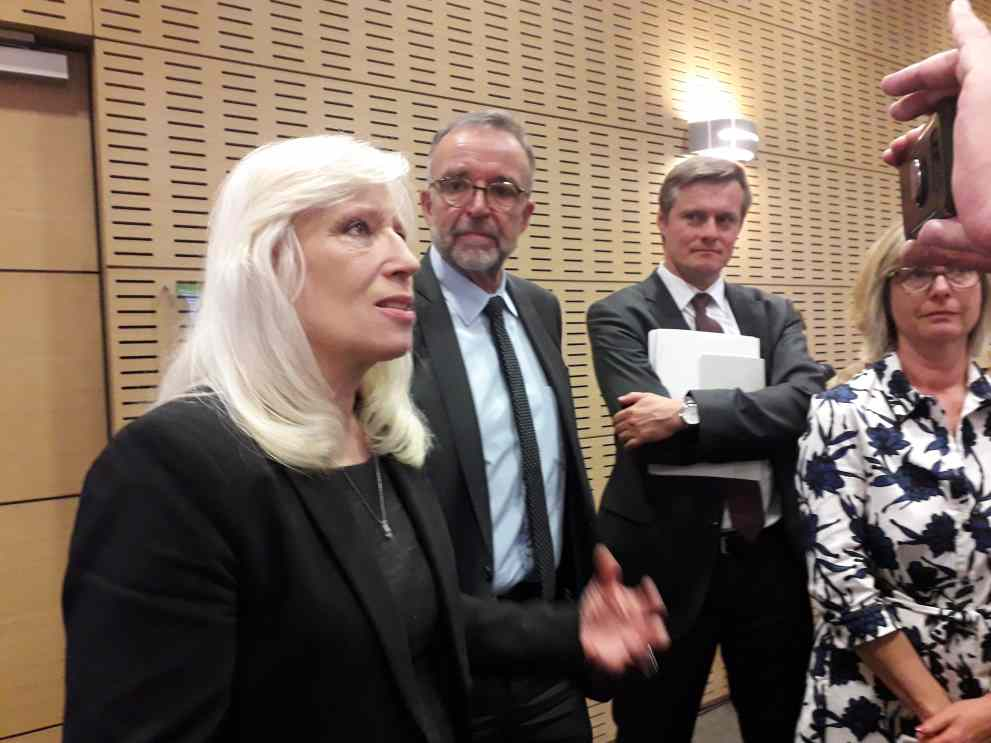 Iveta Radicova, en charge du Corridor Méditerranéen à la Commission européenne ( photo Enviscope)