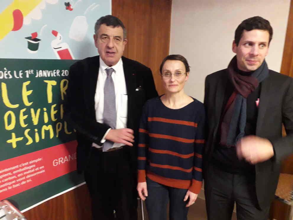 Emballages ménagers Métropole Lyon tri 7 janvier 2020