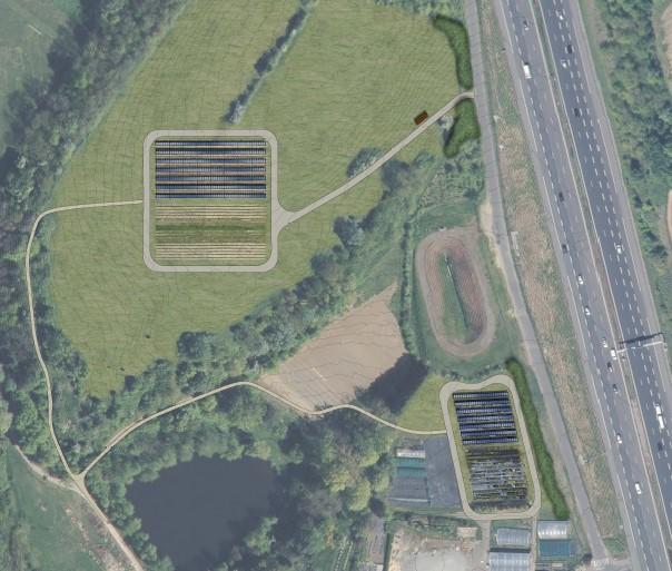 L'agrivoltaïsme étudié grandeur nature au lycée horticole de Dardilly-Ecully