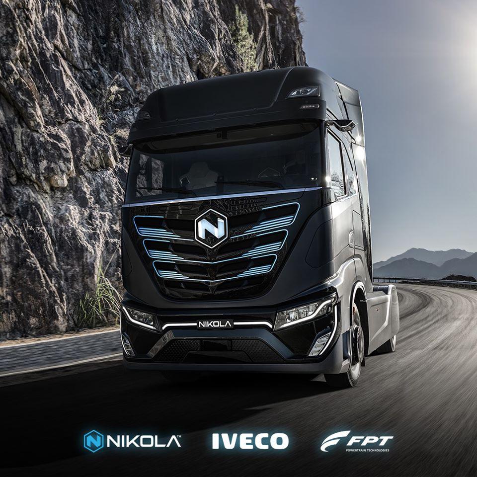 Premier véhicule électrique à batterie pour Iveco et Nikola