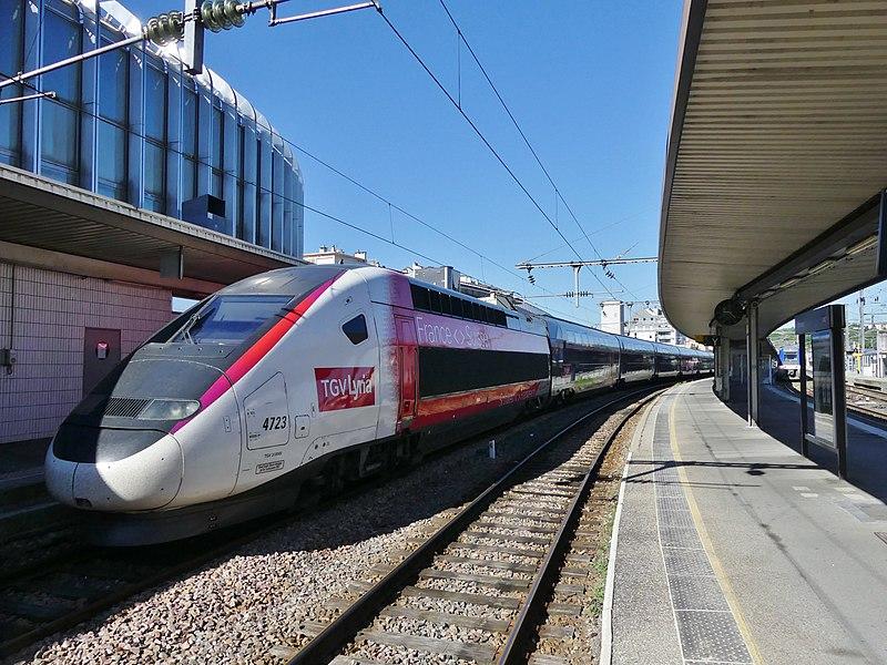 La ligne ferroviaire Lausanne-Vallorbe-Dijon en recherche de croissance