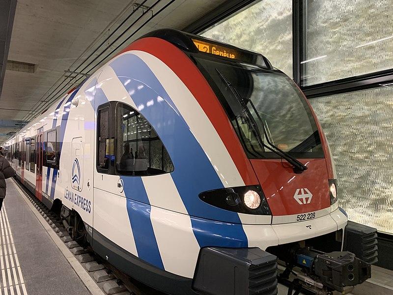 Premiers retours positifs pour le Léman Express à Genève