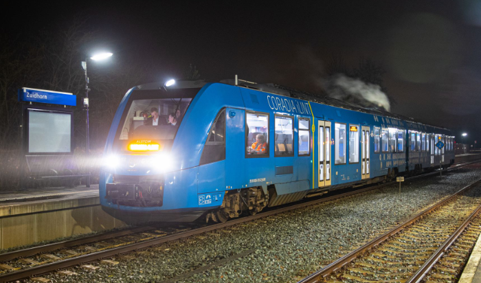Les Pays-Bas testent le train à hydrogène vert