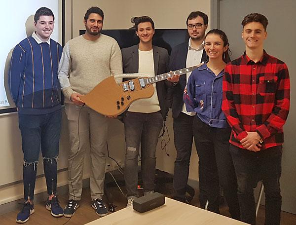 La première guitare biosourcée imprimée en 3D est née à Pagora, INP Grenoble