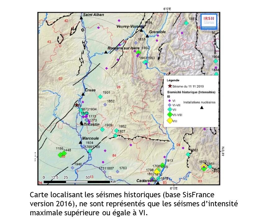 Séisme du Teil : une région à sismicité connue
