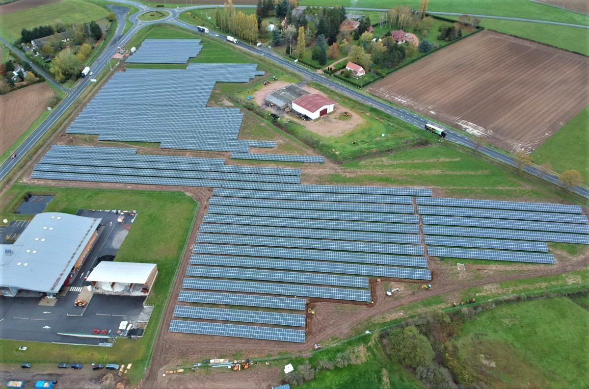 Une centrale solaire de 5 MW inaugurée dans l'Allier