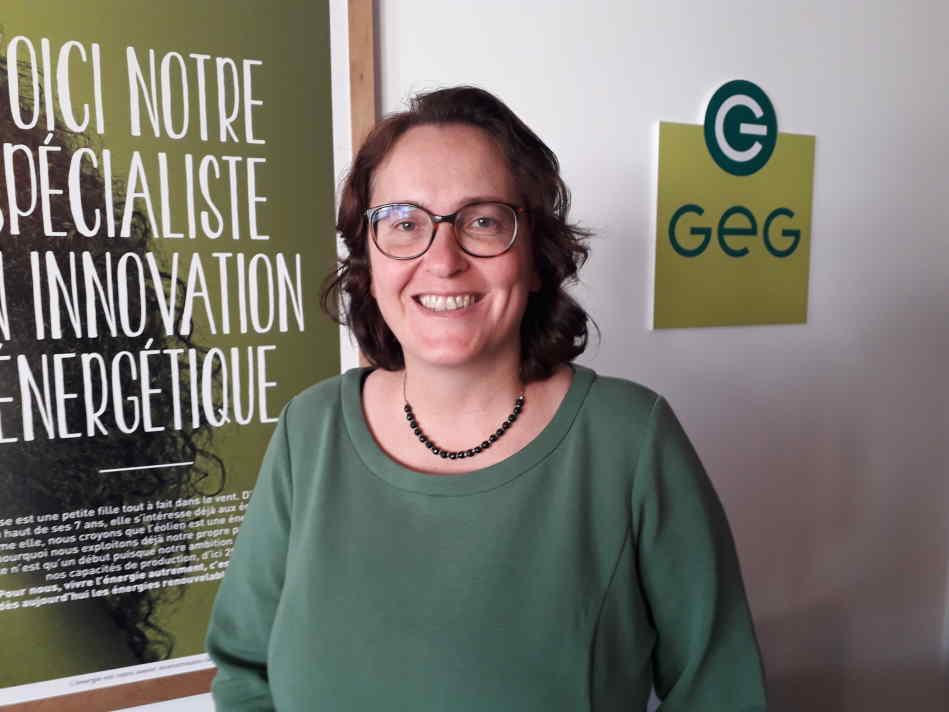 Christine Gochard, directrice générale de Gaz et Electricité de Grenoble ( Enviscope)