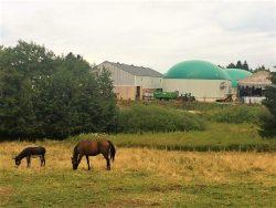 Terre'Agreau, à Evian, injecte dans le réseau le biométhane purifié par la technologie d'Arol Energy. ©B.Mortgat