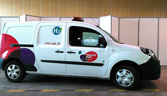 Le programme ZEV prévoit notamment le soutien à l'acquisition de 1 000 voitures à pile à combustible zéro émission dans la région Auvergne-Rhône-Alpes. ©B. Mortgat