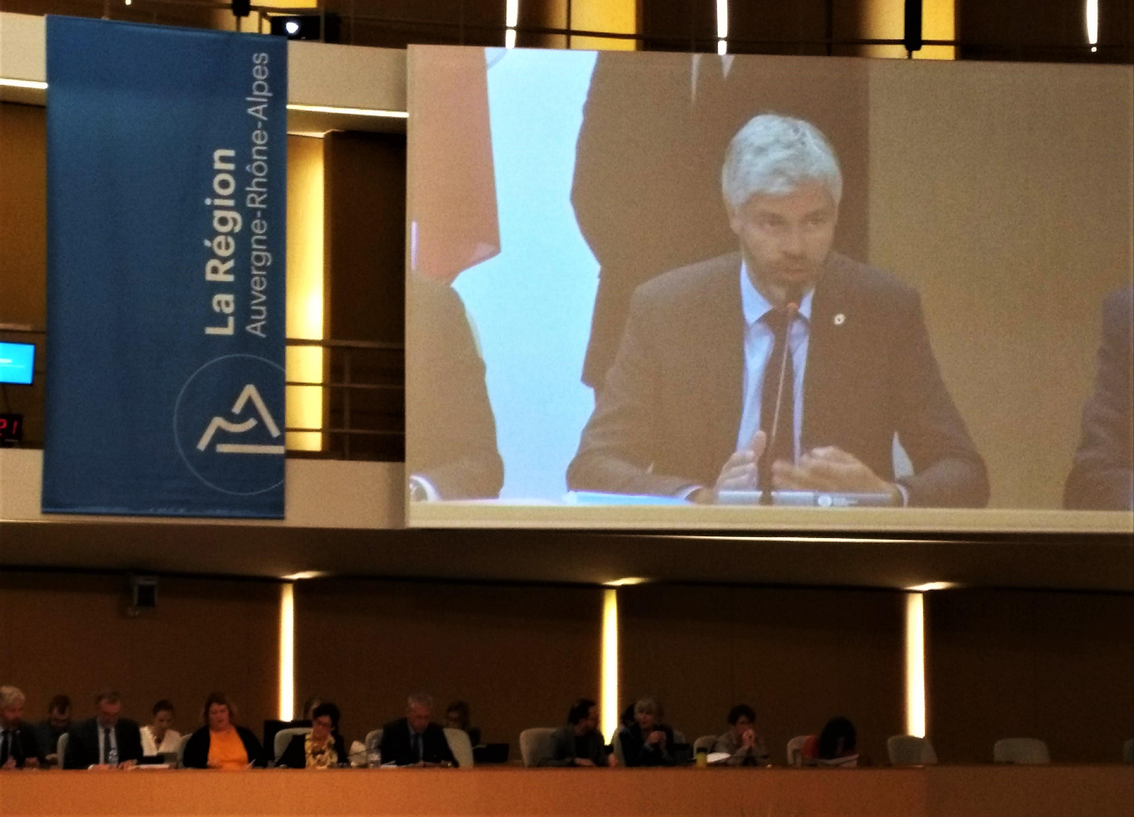 Auvergne-Rhône-Alpes : la majorité confirme son cap financier