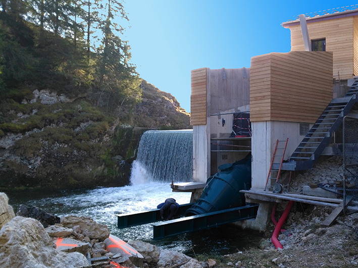 Hydroélectricité: une production liée aux conditions climatiques