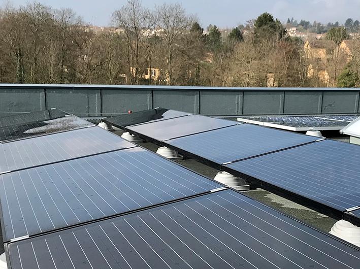 KTR se dote d'un siège à énergie positive grâce à la géothermie et au solaire