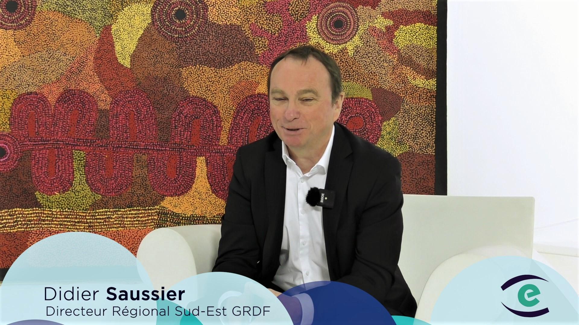 La transition vers les gaz verts est en route – Didier Saussier, Directeur régional Sud-Est GRDF