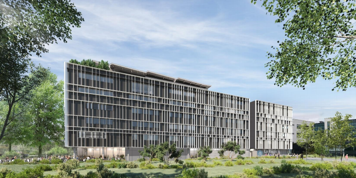 Un nouveau lycée à haute performance environnementale en construction à Gerland
