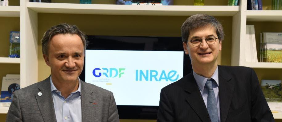 GRDF et l'Inrae coopèrent pour développer la méthanisation agricole