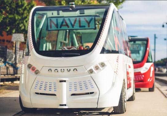 Navettes autonomes: Lyon et Genève, villes pilotes du projet européen Avenue