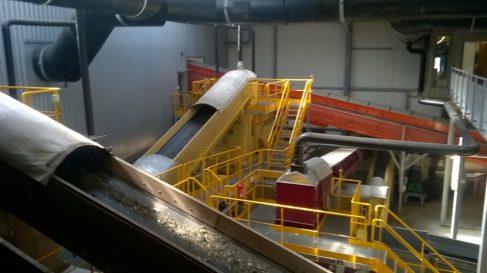 Le traitement mécano-biologique des déchets ménagers sur le site OVADE ( Enviscope.com)