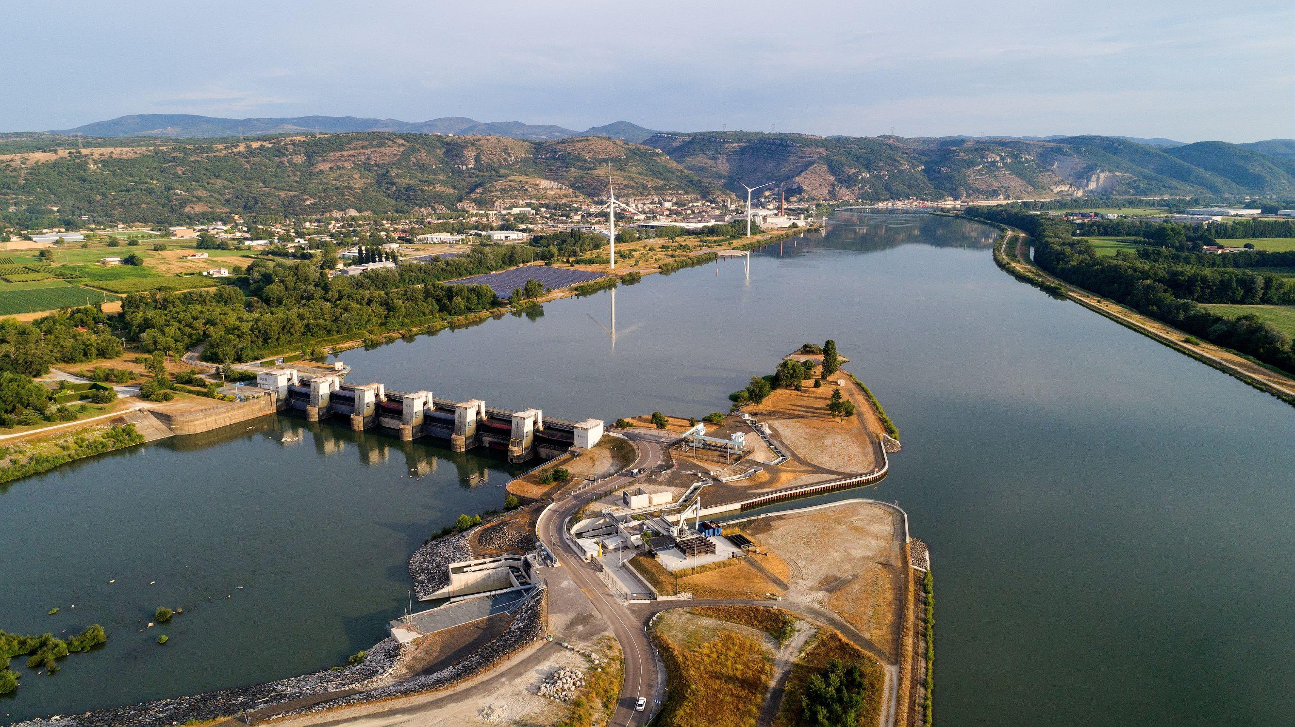 Loriol et Le Pouzin : CNR inaugure un vaste projet d'aménagement sur le Rhône