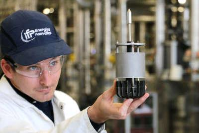 Les chercheurs d'IFP Energies nouvelles ont mis au point une methodologie innovante pour concevoir par CFD (Computational Fluid Dynamics) et fabriquer par impression 3D un reacteur chimique en metal destine a la production de carburants propres ( photo IFPEN)