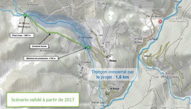 La centrale hydroélectrique du Rif Garcin, contribution locale à la transition énergétique