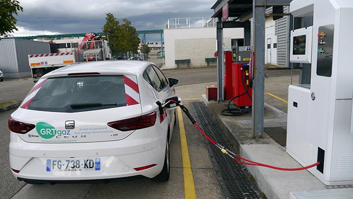 GRTgaz intègre 48 véhicules Seat hybrides GNV/essence dans sa flotte d'entreprise