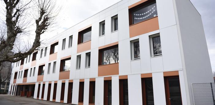 Rénovation thermique: l'école élémentaire Bel Air d'Eybens inaugurée