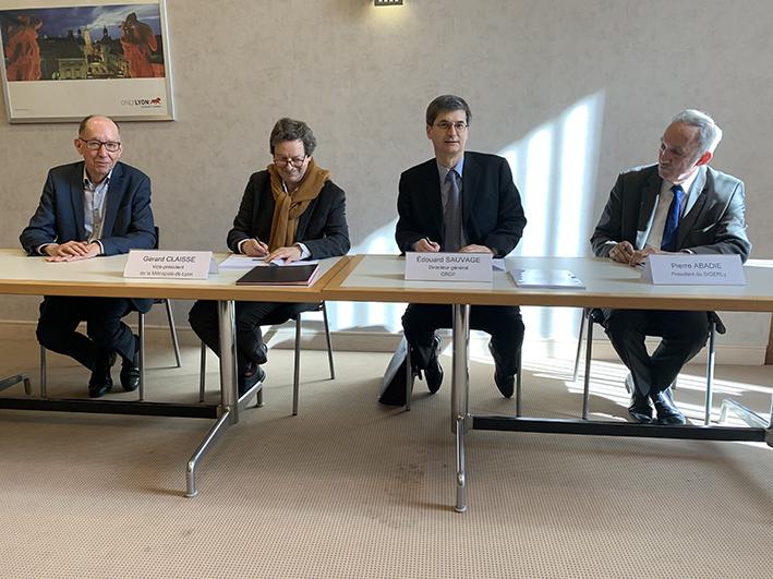 Gaz : concessions renouvelées avec GRDF pour la Métropole de Lyon et le Sigerly