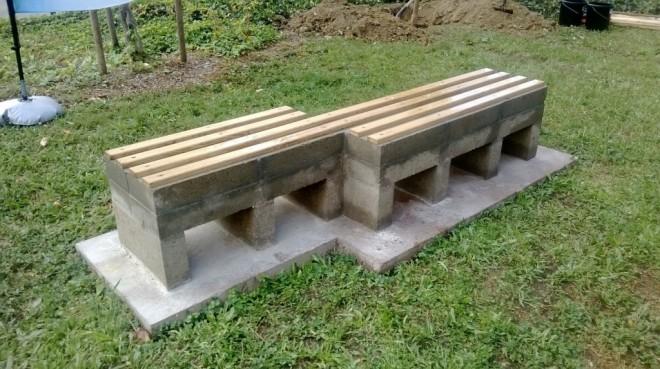 Un banc stockant du carbone sur lequel on peut s'asseoir ( Enviscope.com)