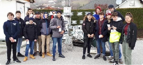 Qualité de l'air : un observatoire lycéen met en ligne les données de 30 micro-stations en vallée de l'Arve