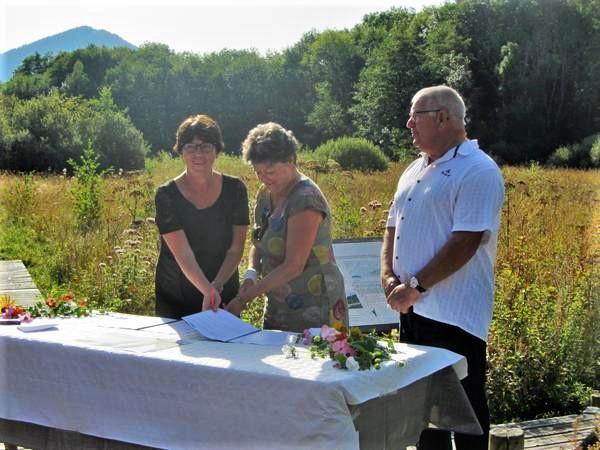 Partenariat entre la CCPEVA et Enedis pour la préservation des marais de Gavot