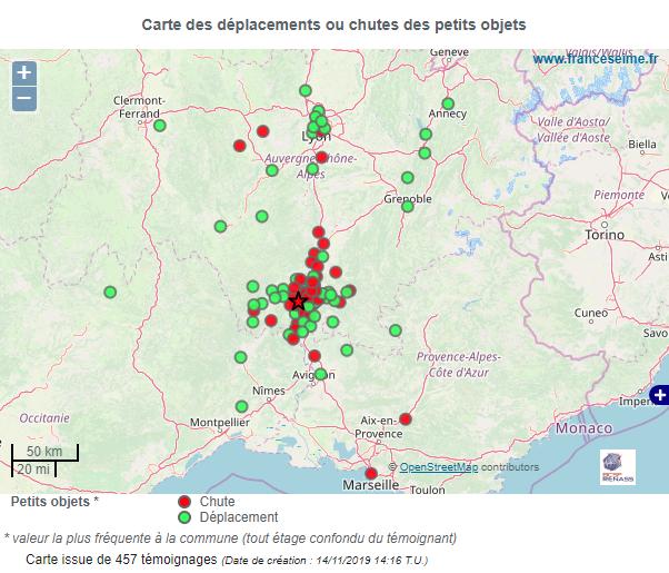 Séisme du 11 novembre: importants dégâts sur la commune du Teil
