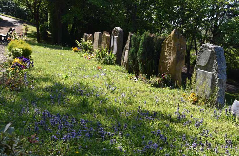 Le cimetière jardin de Villefranche Beaujolais Saône gagnant des Trophées Paysagistes pour l'Environnement