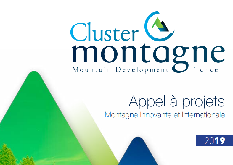 Nouvel appel à projets «montagne Innovante et internationale» du cluster montagne