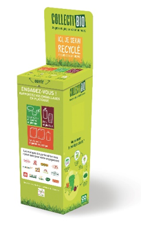 Box Collectibio, déjà présente dans une centaine de points de collecte en Auvergne-Rhône-Alpes ©Collectibio
