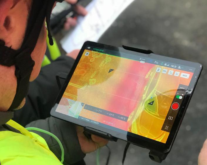 Réseaux de chaleur: un drone pour repérer les fuites à Grenoble