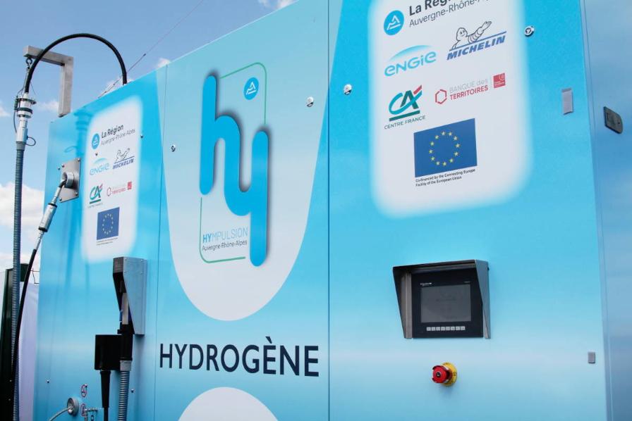 Le programme Zero Emission Valley inaugure sa première station d'hydrogène à Clermont-Ferrand