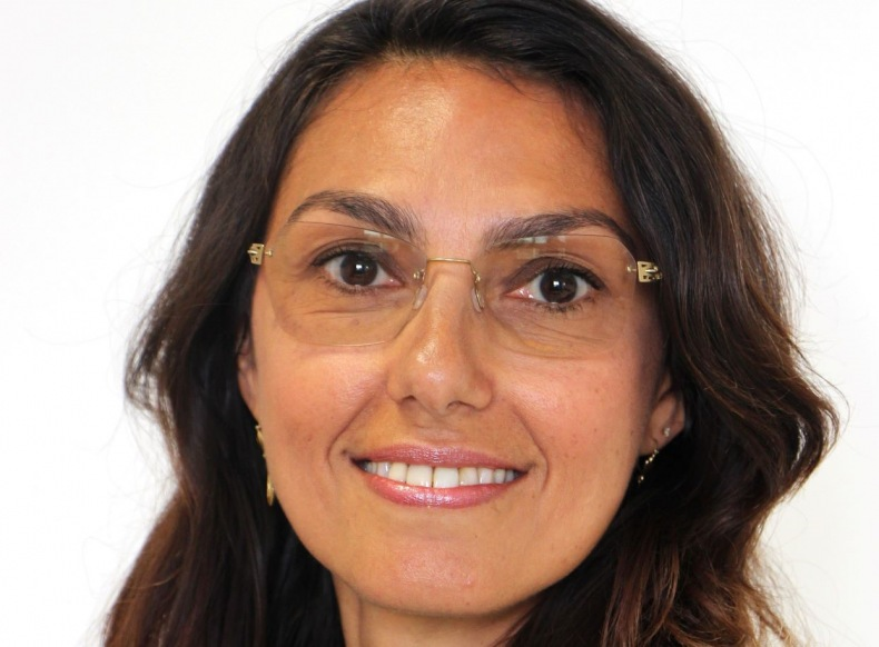 Mylène Franceschi, déléguée régionale du groupe La Poste en Auvergne Rhône-Alpes,
