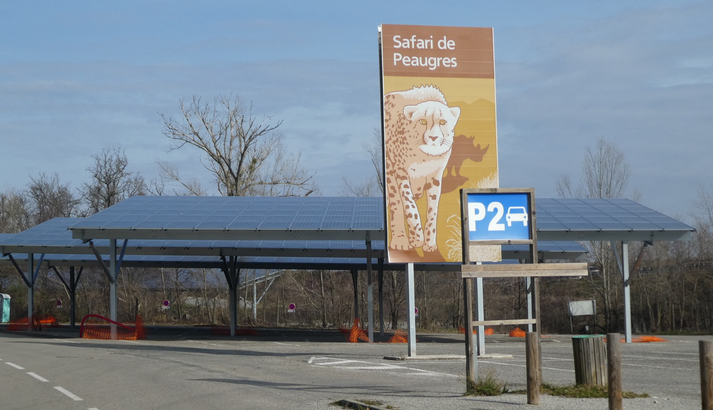 Le Safari de Peaugres devient producteur net d'énergie