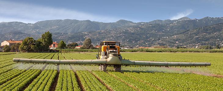 Pesticides dans l'air : les observatoires régionaux de surveillance de l'air publient leurs mesures