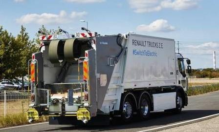 La Métropole de Lyon teste une benne à ordures ménagères Renault Trucks 100 % électrique