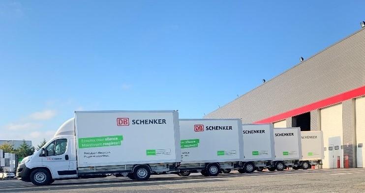 Schenker France développe la livraison urbaine en véhicules électriques