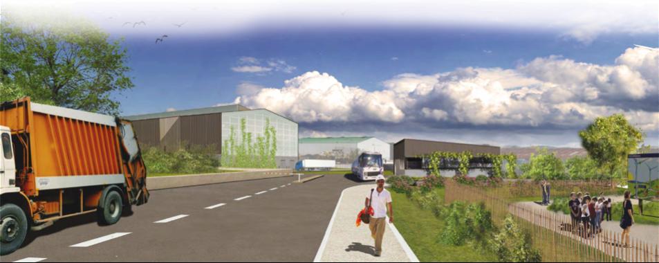 Un nouveau pôle de valorisation Energie Matières pour l'Ardèche méridionale