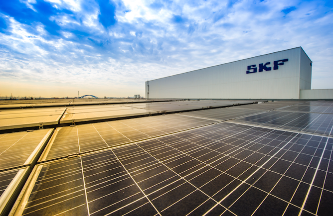 SKF vise la neutralité carbone en 2030
