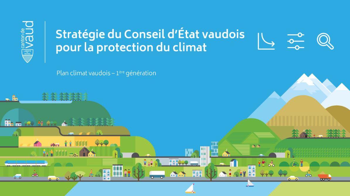 Canton de Vaud : un plan climat ambitieux pour réduire les risques et protéger la population