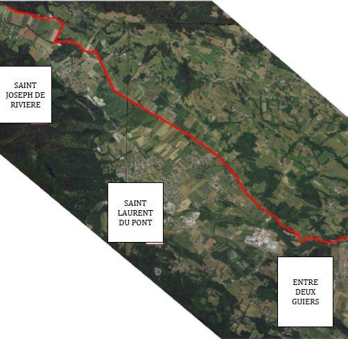 Les travaux de la voie verte en Chartreuse ont démarré